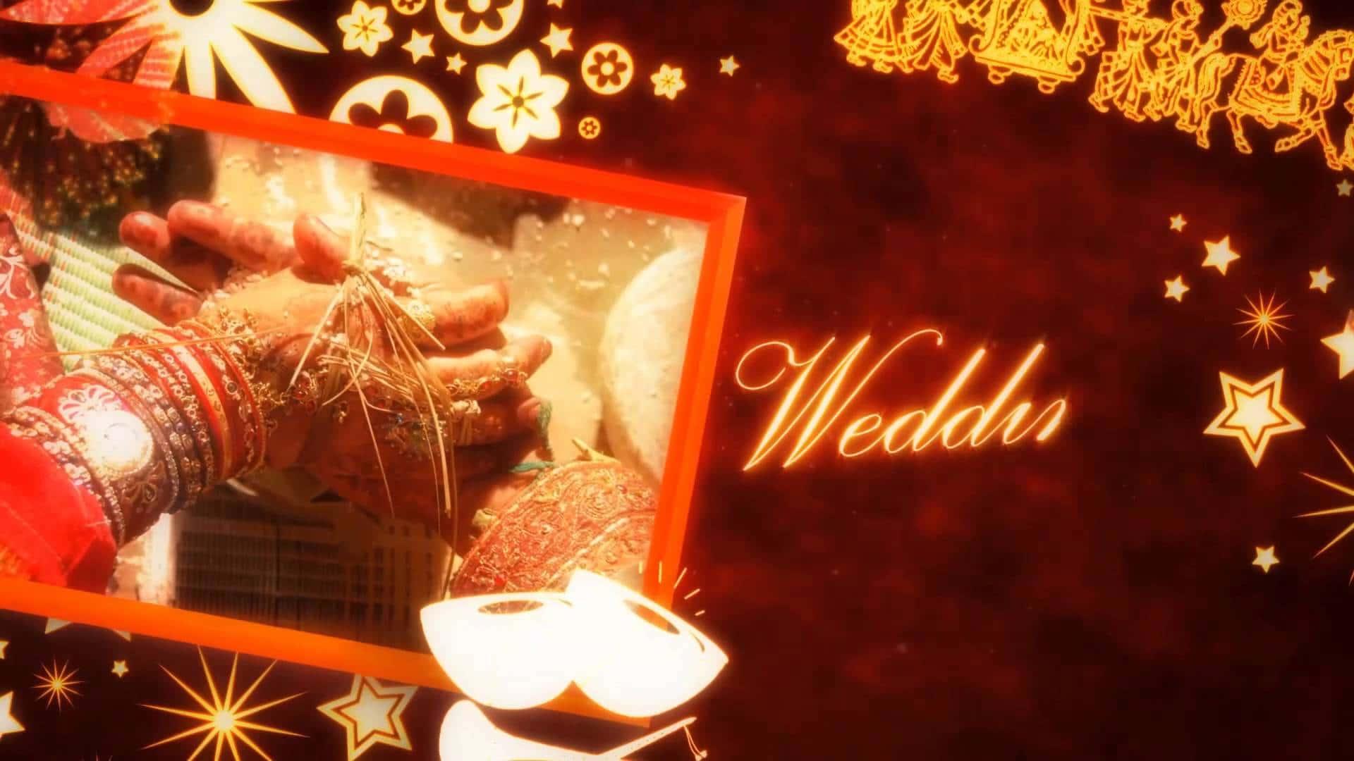 Awesome Traditional Wedding Invitation For Hindu Wedding Video
